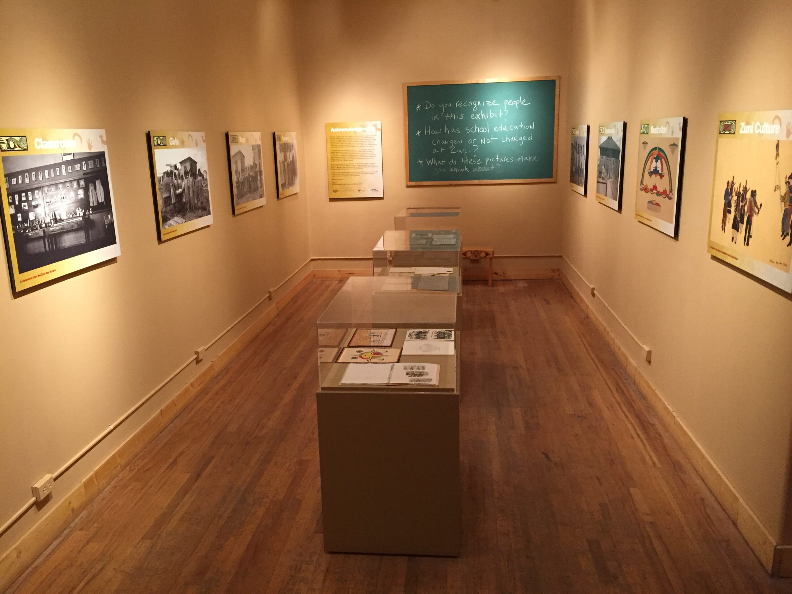 Zuni Day School Exhibit