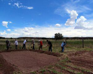 Zuni community farming
